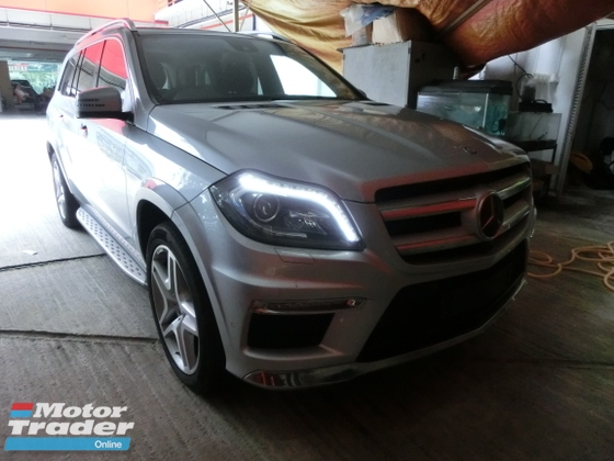 2013 MERCEDES-BENZ GL-CLASS GL350 AMG 3.0 Diesel Turbo Full Spec Unreg 4 Camera Sunroof Pre Crash