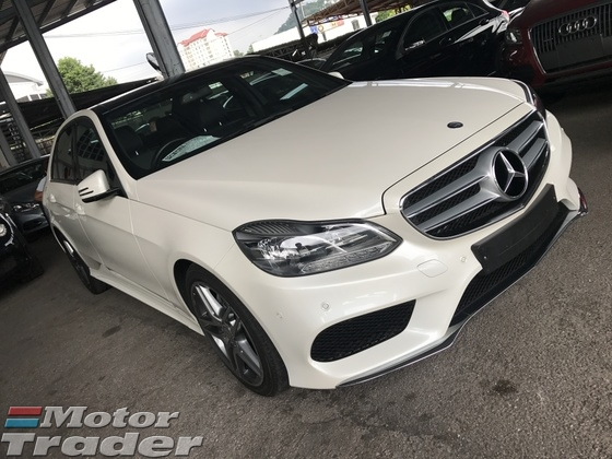 2014 MERCEDES-BENZ E-CLASS E200 2.0 AMG 7G ACTUAL YR 2014 FULL SPEC PANORAMIC ROOF ELECTRIC SEAT 18 RIMS