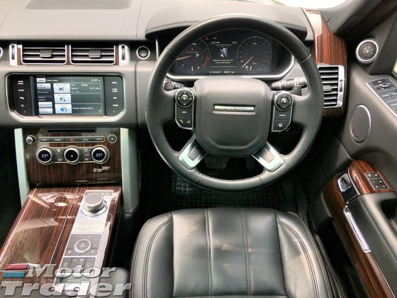 2016 LAND ROVER RANGE ROVER VOGUE 5.0 (A) UNREGISTERED