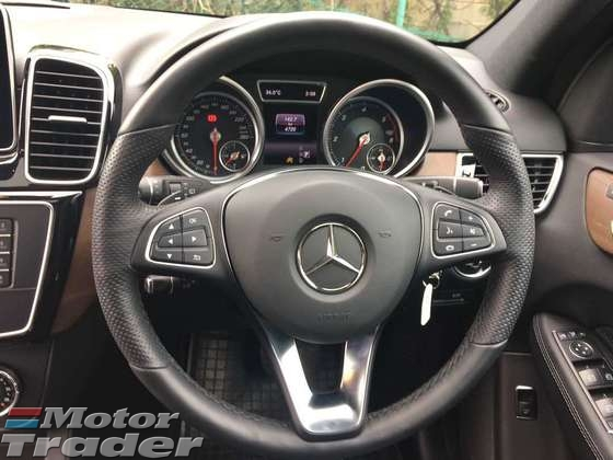 2015 MERCEDES-BENZ GLE 250D AMG SPEC  DIESEL 4 CYLINDERS 204 HP RADAN CAMERA SUNROOF POWER BOOT NAPPA LEATHER SEATS AMG 20 INCH RIM 2 MEMORY SEATS CLIMATE AIRCOND CONTROL ADJUSTABLE SIDE MIRROR DVD PLAYER WITH REAR 2 MONITOR UNDER WARRANTY