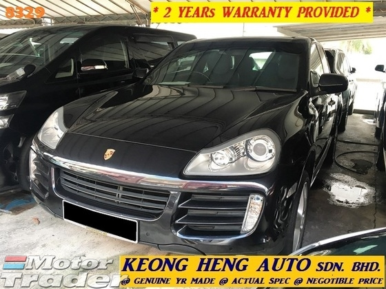 2007 PORSCHE CAYENNE 3.6 FL (ACTUAL YR MADE 2007)(GST INCLU)(REG 2011)(1 OWNER)(TIP TOP)(KL CHERAS AREA)(MANY CHOICES)