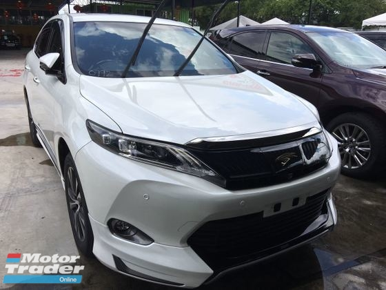 2015 TOYOTA HARRIER Toyota Harrier 2.0 (A) got many stock ADVANCE