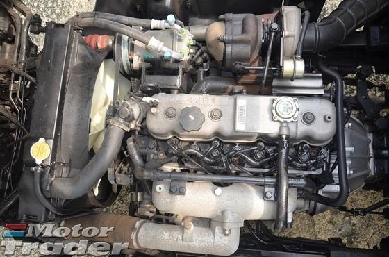 2017 BISON OTHERS BJ 1039HD Wooden Kargo Body 13ft BDM 5000kg Green Diesel Engine 4 Wheeler Isuzu 2.8cc Turbo Engine