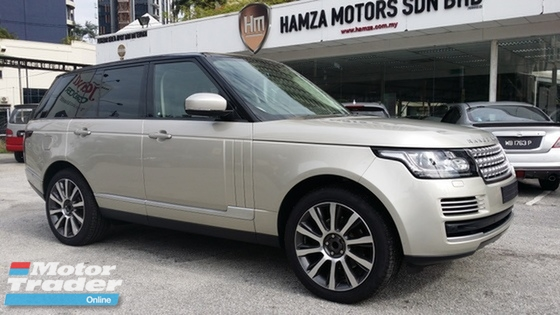 2013 LAND ROVER RANGE ROVER VOGUE 3.0 SDV6 Rotary Gear Shift