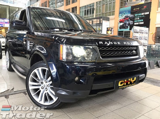 2010 LAND ROVER RANGE ROVER SPORT AUTOBIOGRAPHY SPORT