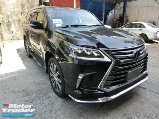 2015 LEXUS LX570 LX 570 5.7 Unreg Sunroof Mark Levinson 4 Camera Power Boot Modellista No SST
