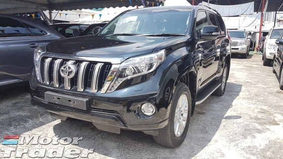 2015 TOYOTA LAND CRUISER 2.8L DIESEL TURBO UNREG 2015