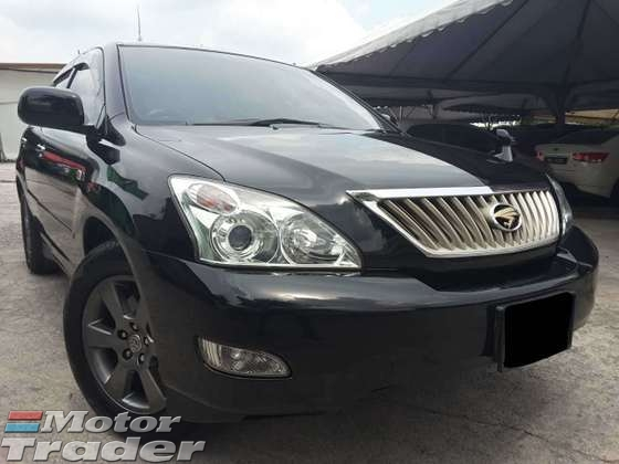 2012 TOYOTA HARRIER 2.4 VVTI PREMIUM L PACKAGE ELECTRIC SEATS POWER BOOT SPORT RIMS NEW TYRE ORIGINAL PAINT FULL LEATHER SEATS NO REPAIR NEED EXCELLENT INTERIOR