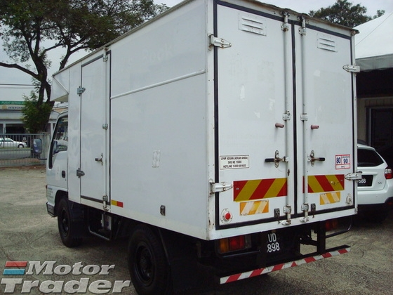 2010 HICOM MTB145 LUTON BOX
