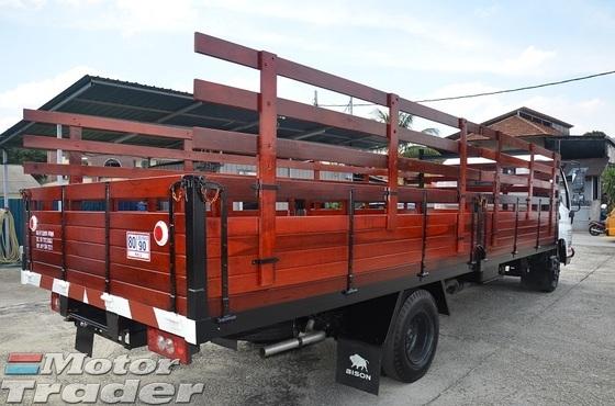 2017 Bison BJ1059XL Wooden Kargo Body 5000kg 20ft