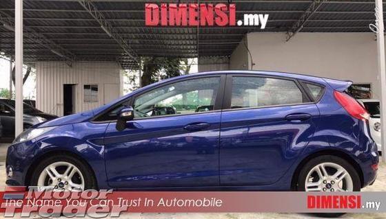 Ford Fiesta   A Tahun Dibuat