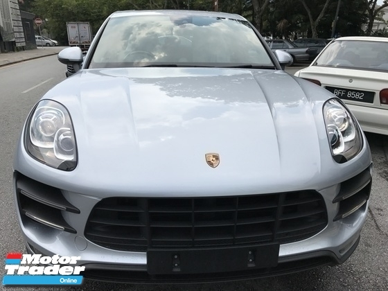 2014 PORSCHE MACAN 3.6 TURBO UNREG  SILVER UK