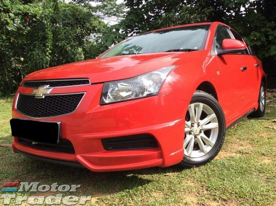 2009 CHEVROLET CRUZE 1.8 LZT ONE OWNER FULL SPORT BODYKIT FULL LEATHER SEATS NEW TYRE ORIGINAL CONDITION FULL LOAN NO REPAIR NEED