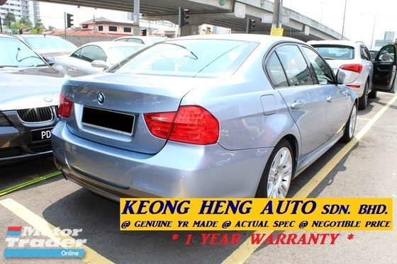 2009 BMW 3 SERIES E90 320i FACELIFT 2.0 MSPORT (ACTUAL YR MADE 2009)(GST INCLU)(CKD LOCAL SPEC)(TIPTOP)(LOW MILE)