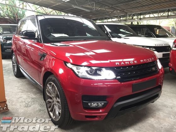 2015 LAND ROVER RANGE ROVER SPORT 5.0 V8 Supercharged AUTOBIOGRAPHY
