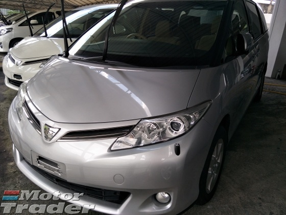 2012 TOYOTA ESTIMA 2 4 X EDITION 8 SEATER 2 POWER DOOR FRONT REAR