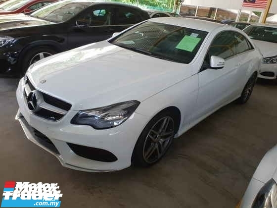 2014 MERCEDES-BENZ E-CLASS E200 Coupe AMG Spec 18\