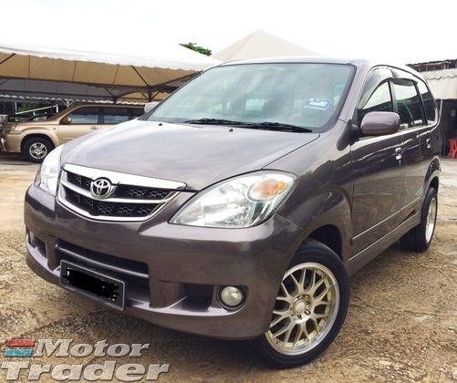 2008 TOYOTA AVANZA 1.5 G (A) TIP TOP CLEAN AND TIDY