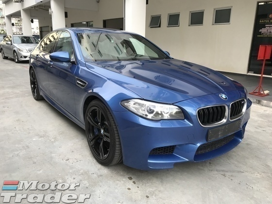 2014 BMW M5 4.4 Twin Power turbo Unregister