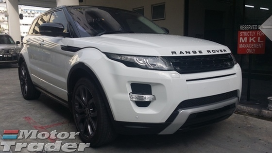 2013 LAND ROVER EVOQUE 2.0 Si4 Dynamic