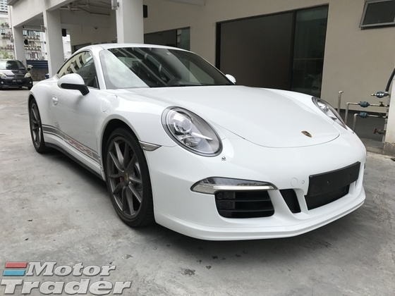 2013 PORSCHE 911 4S Unregister inclusive GST