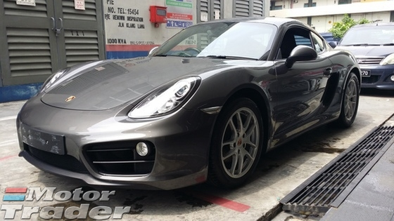 2014 PORSCHE CAYMAN UNREGISTERED