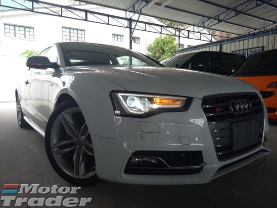 2013 AUDI S5 3.0 V6 TFSI COUPE ( MIRROR ASSIST BLIND SPOT ) JAPAN SPEC ( LIKE NEW CONDITION )