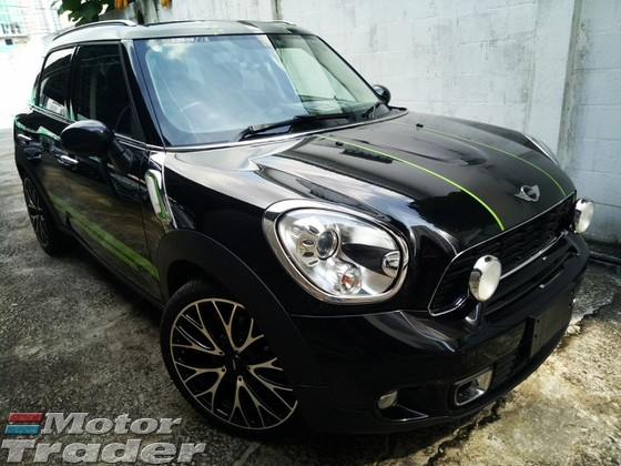2013 Mini Countryman 16 Cooper S Turbo Jpn Spec Like New