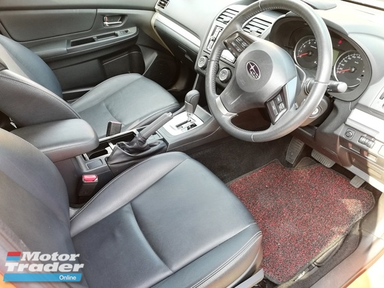 2014 SUBARU XV 2.0 Leather Seat