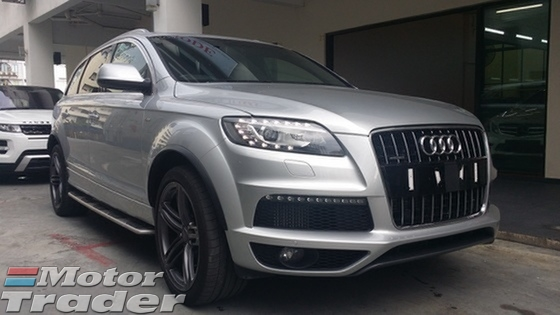 2014 AUDI Q7 3.0 TDi S.Line with Airmatic Suspention Unregister
