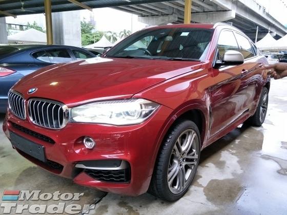 2015 BMW X6 3.0 50D TRIPLE TURBOCHARGER  8 SPEED NEW MODEL X6 3.0 50D