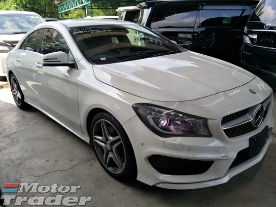 2013 MERCEDES-BENZ CLA 250 2.0 4MATIC AMG JAPAN SPEC 2 MEMORY SEATS MULTI FUNCTION STEERING AMG PADDLE SHIFT ADJUSTABLE SIDE MIRROR CLIMATE AIRCOND CONTROL BI XENON HEADLAMPS REVERSE CAMERA FREE 1 YEAR GMR WARRANTY LOCAL AP