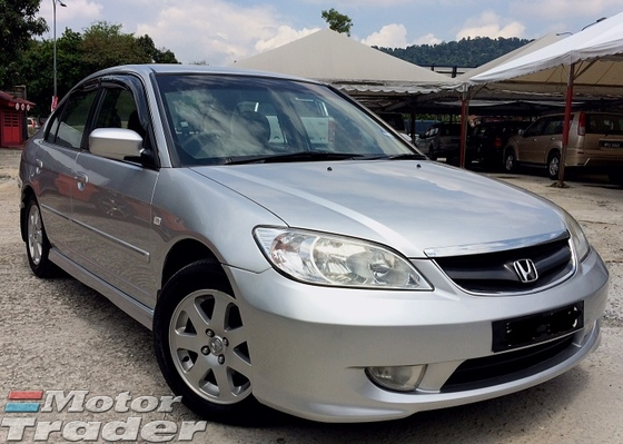 2005 HONDA CIVIC FACELIFT TIP TOP CONDIITION LEATHER SEATS