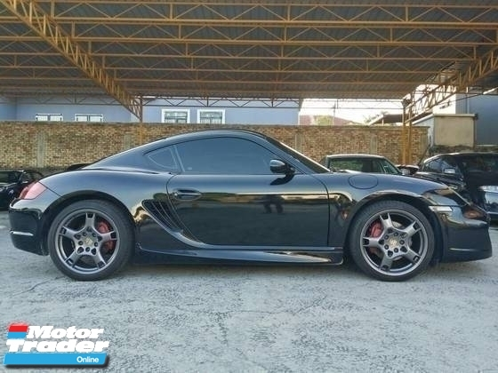 2007 PORSCHE CAYMAN S 3.4 (A) REG 2011 COUPE TIPTRONIC GOOD CONDITION CAREFUL OWNER PROMOTION PRICE.
