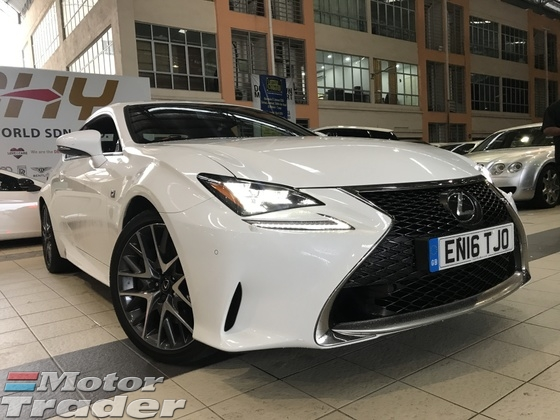 2016 LEXUS LEXUS OTHER RC200T