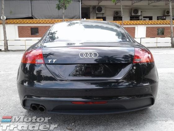 2013 AUDI TT TT 1.8 UNREGISTERED