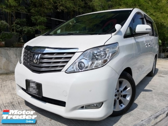 2008 TOYOTA ALPHARD 3.5 FULL SPEC L PACKAGE
