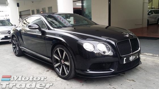 2014 BENTLEY GT 4.0 V8 S Unregister GST Including
