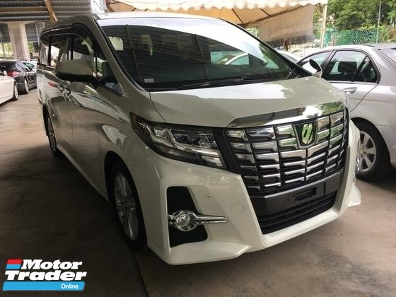 2015 TOYOTA ALPHARD 2.5 S Spec 8seather 2PD Keyless 7G 360View Cam