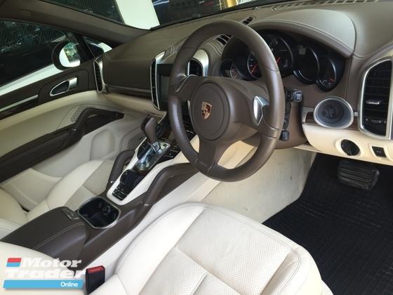 2011 PORSCHE CAYENNE Unreg Porsche Cayenne V6 3.6 camera full leather seats 11 unreg