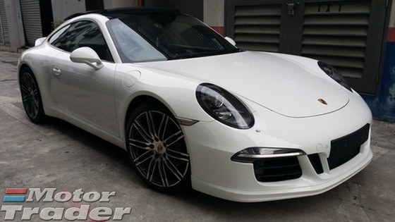 2014 PORSCHE 911 3.8S (991) Unregister Price With GST