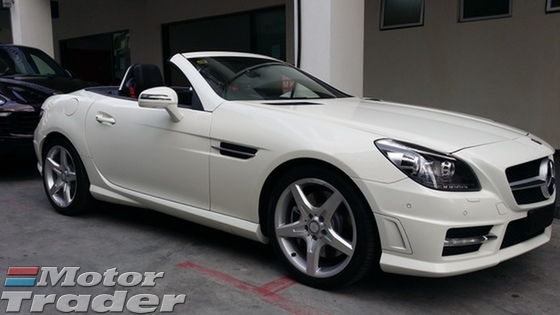 2013 MERCEDES-BENZ SLK 250 AMG Unregister GST Included