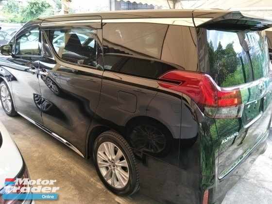 2015 TOYOTA ALPHARD 2.5 SA SUNROOF POWER BOOT