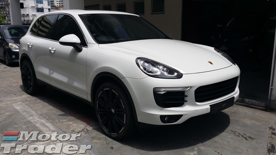 2016 PORSCHE CAYENNE  3.6S Turbo New Facelift  V6 Biturbo  Unregister  GST Included