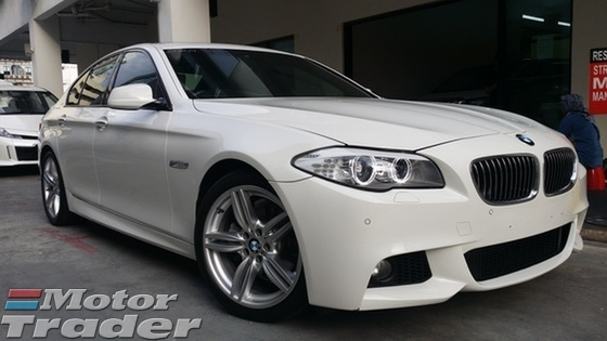 2013 BMW 5 SERIES 528i M Sport 2.0 Twin Power Turbo Unregister GST Included
