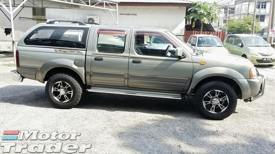 2005 NISSAN FRONTIER 2.5 4X4 (M) CANOPY