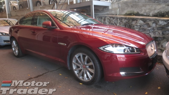 2014 JAGUAR XF PREMIUM LUXURY
