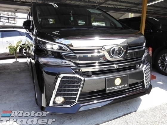 2015 TOYOTA VELLFIRE ZA (JBL 4CAM)   RM 256,600   Recon Car for