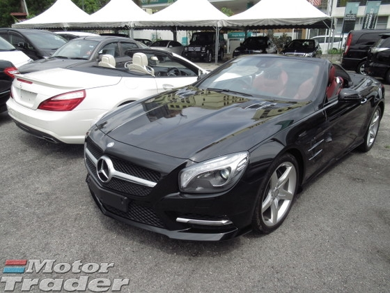 2014 MERCEDES-BENZ SL SL350 AMG CONVERTIBLE 2014 UNREG MANY UNIT