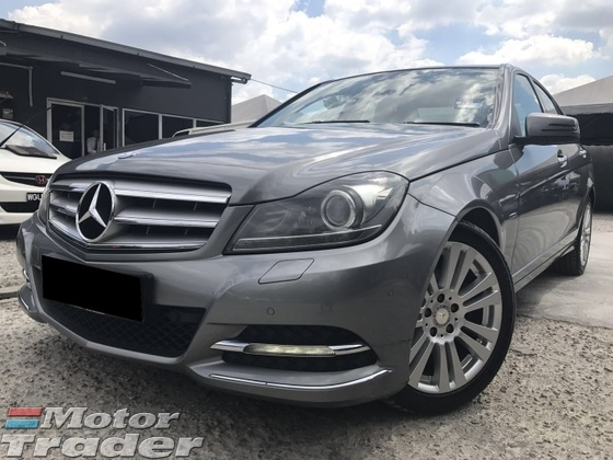 2013 MERCEDES-BENZ C-CLASS C200 ONE OWNER NEW FACELIFT NEW TYRE ORIGINAL PAINT ORIGINAL CONDITION MEMORY ELECTRIC SEATS